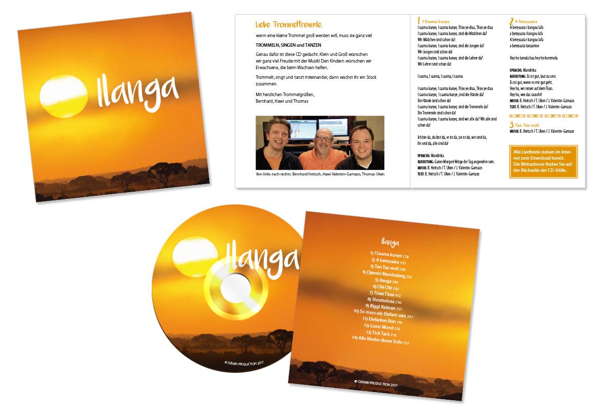 Produktdesign, Gestaltung für Ilanga