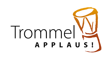 Logodesign, Corporate Design für Trommelapplaus von Doris Peiter