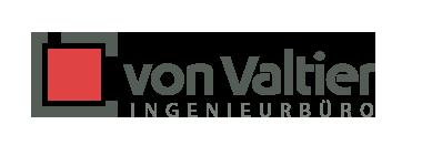 Logo für das Ingenieurbüro von Valtier von Doris Peiter