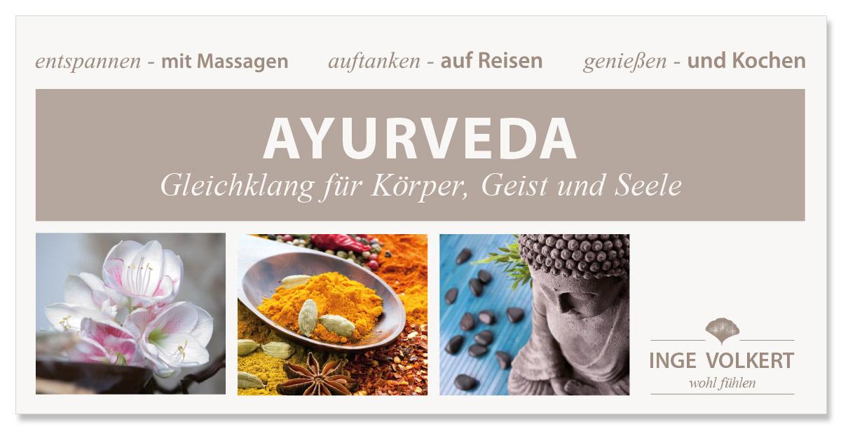 Werbedesign Bannerdesign für Inge Volkert - Wohl fühlen von Doris Peiter
