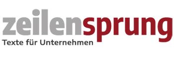 Logogestaltung Zeilensprung
