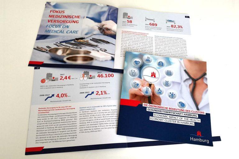 Broschüre Gesundheitswirtschaft