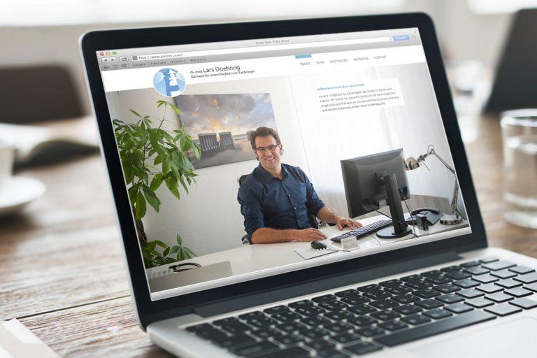 Webseite für Dr Doehring Kardiologie