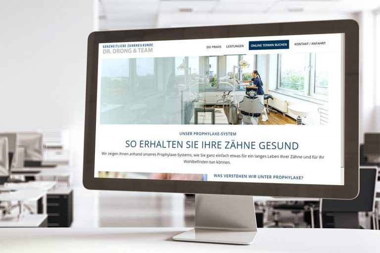 Webdesign- Zahnarzt Hamburg